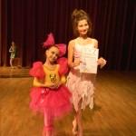 Лауреаты 1 степени фестиваля - конкурса  Весь мир танца 2013 Глушко Виктория и денисова Анастасия