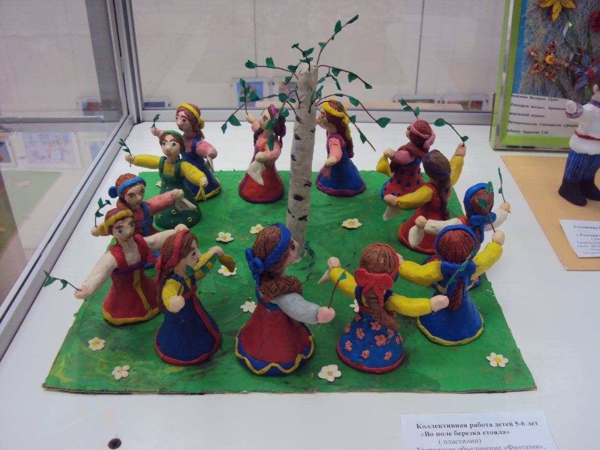 Детское творчество на выставку
